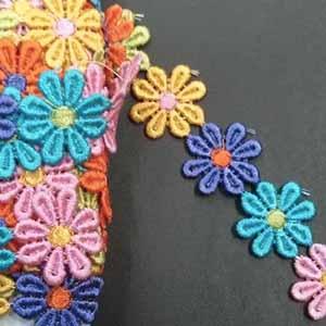 סרט פרחים צבעוני