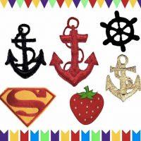 פאטצ'ים עוגן, תותים, סופרמן